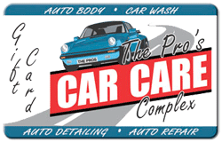 Pro's Car Care Complex Gift Card